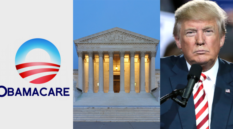 Trump demands supreme court to quash Obamacare again